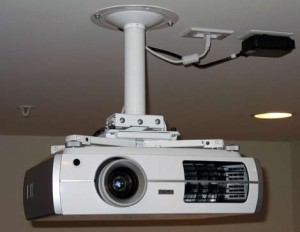 Projector with Ceiling Mount